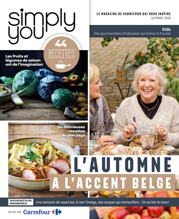 Folder Carrefour du 01/10/2018 au 15/12/2018 - Simply You
