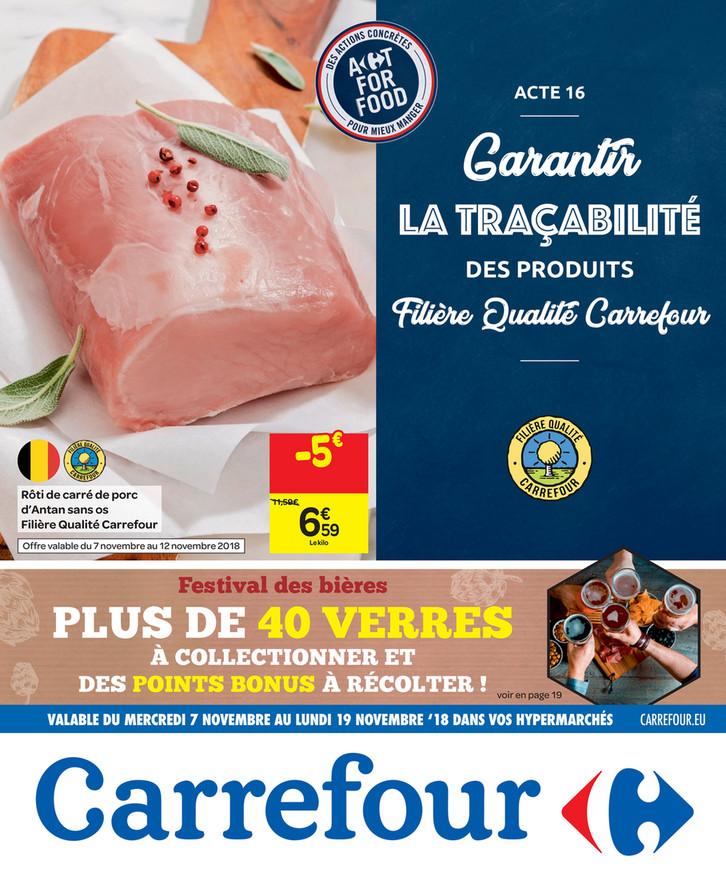 Folder Carrefour du 07/11/2018 au 12/11/2018 - Promotions de la semaine 45