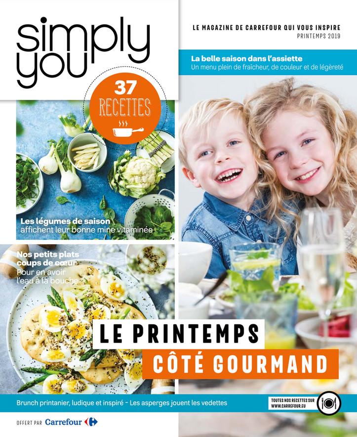 Folder Carrefour du 11/03/2019 au 28/04/2019 - Simply you printemps