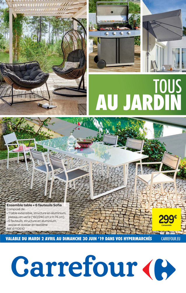 Folder Carrefour du 10/04/2019 au 30/06/2019 - Promotions de la semaine 15a