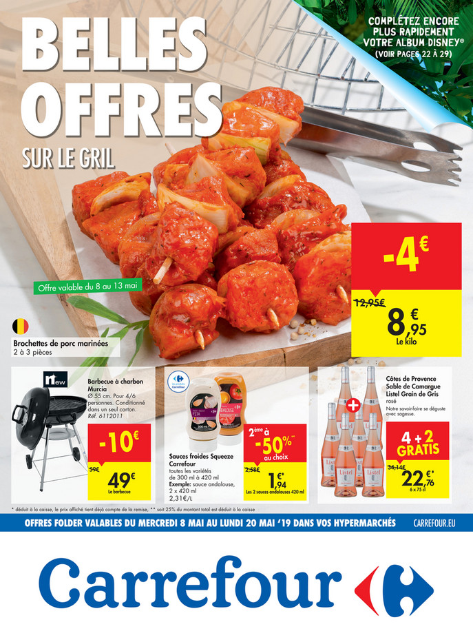 Folder Carrefour du 08/05/2019 au 20/05/2019 - Promotions de la semaine 19b