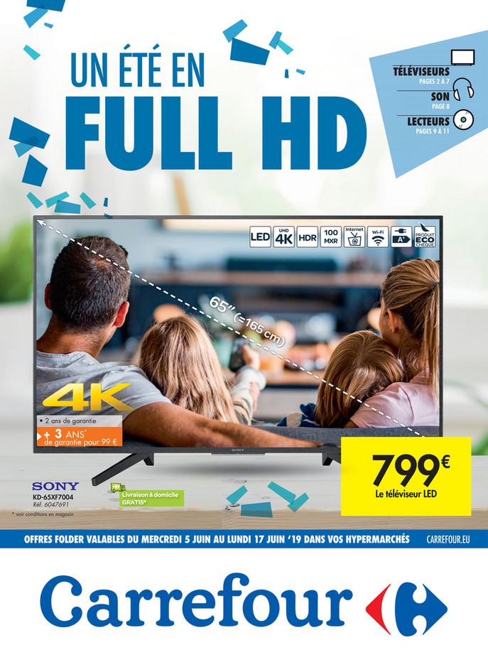 Folder Carrefour du 05/06/2019 au 17/06/2019 - Promotions de la semaine 23a
