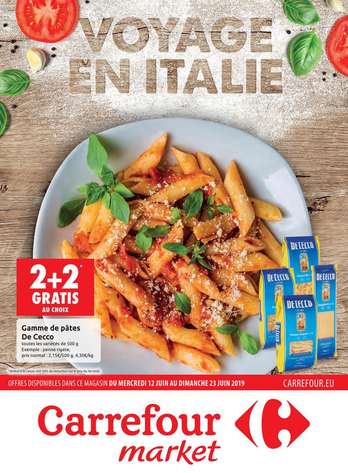 Folder Carrefour du 12/06/2019 au 23/06/2019 - Promotions de la semaine 24a