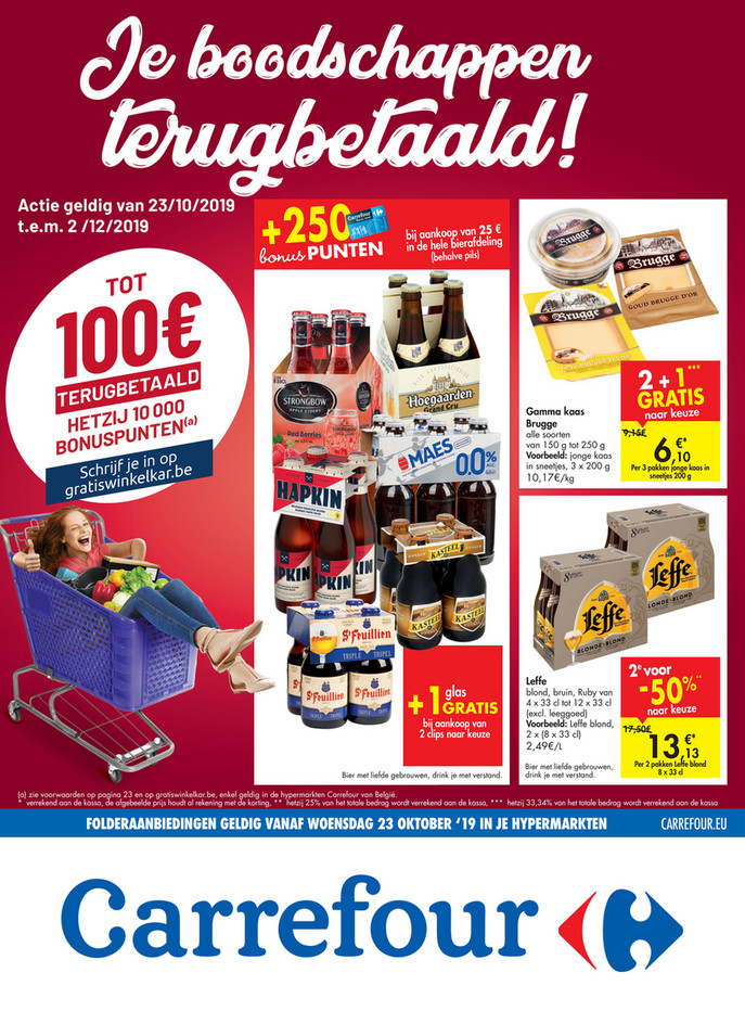 Carrefour folder van 23/10/2019 tot 02/12/2019 - Weekpromoties 43