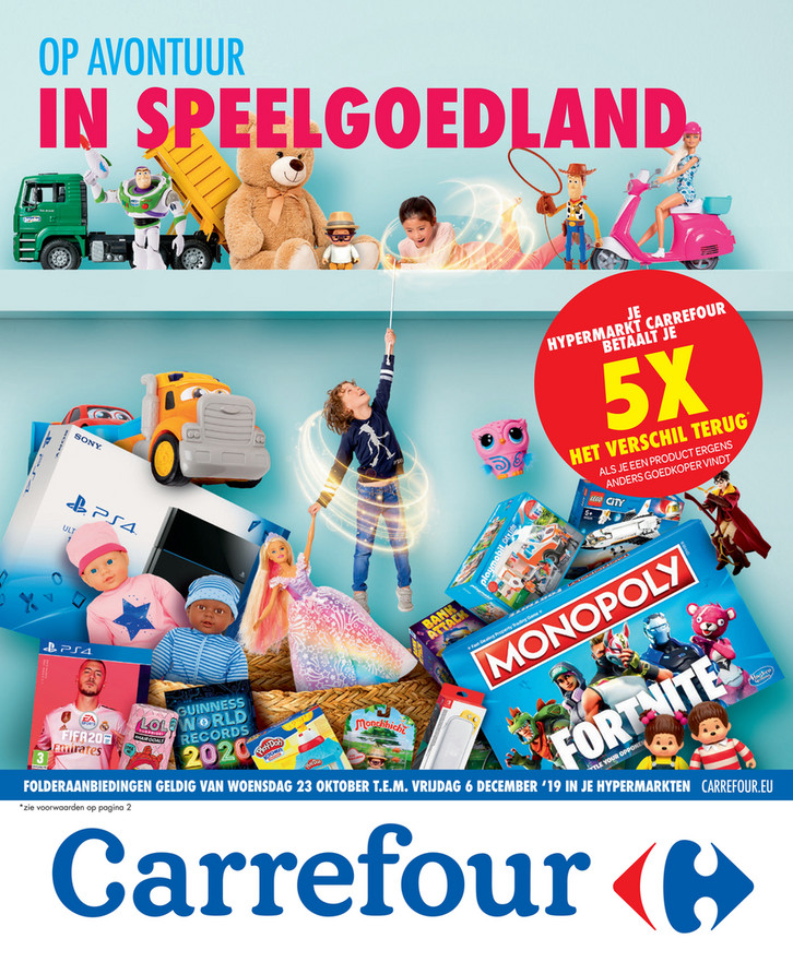 Carrefour folder van 23/10/2019 tot 06/12/2019 - Weekpromoties 43bis