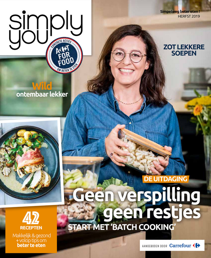 Carrefour folder van 01/10/2019 tot 30/11/2019 - Simply you