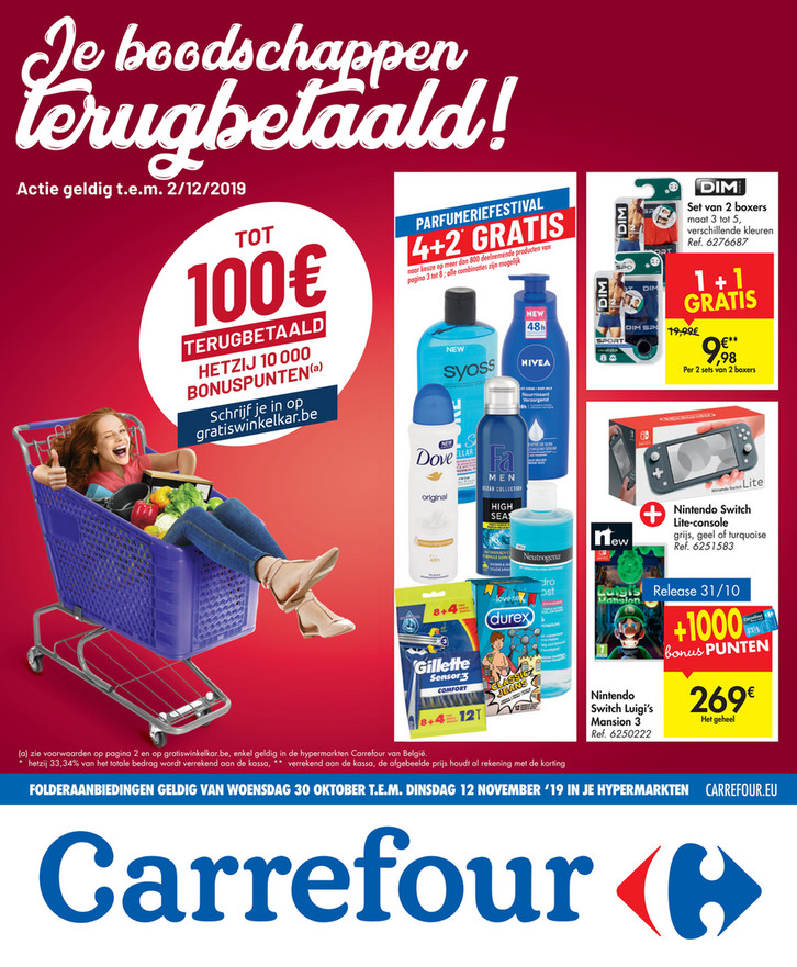 Carrefour folder van 30/10/2019 tot 12/11/2019 - Weekpromoties 44
