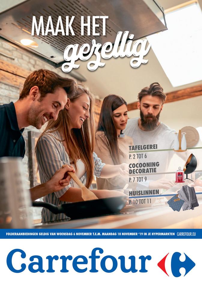 Carrefour folder van 06/11/2019 tot 18/11/2019 - Weekpromoties 45 bazar