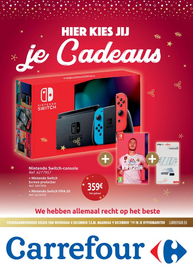 Carrefour folder van 04/12/2019 tot 09/12/2019 - Hier kies jij je cadeaus