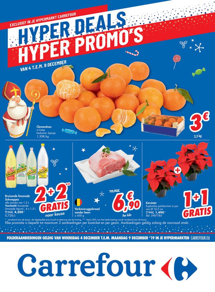 Carrefour folder van 04/12/2019 tot 09/12/2019 - Hyper deals