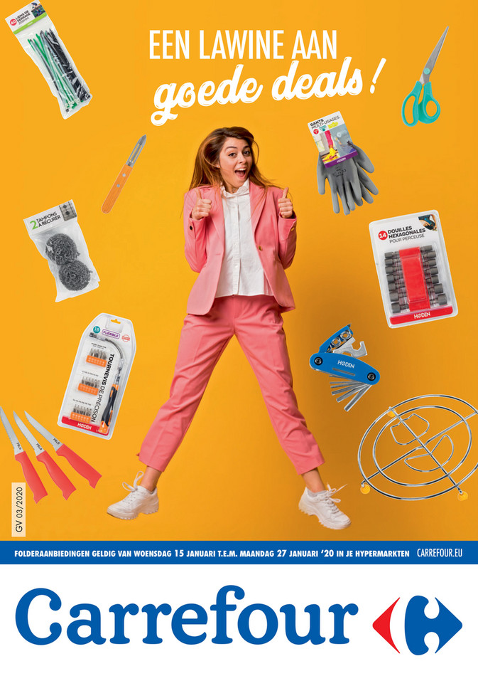 Carrefour folder van 15/01/2020 tot 27/01/2020 - Folder Focus Bazar week 3