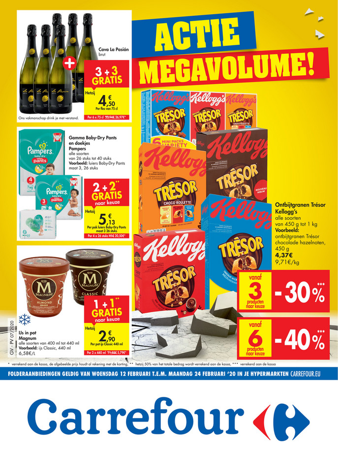 Carrefour folder van 12/02/2020 tot 24/02/2020 - Weekpromoties 07 & 08
