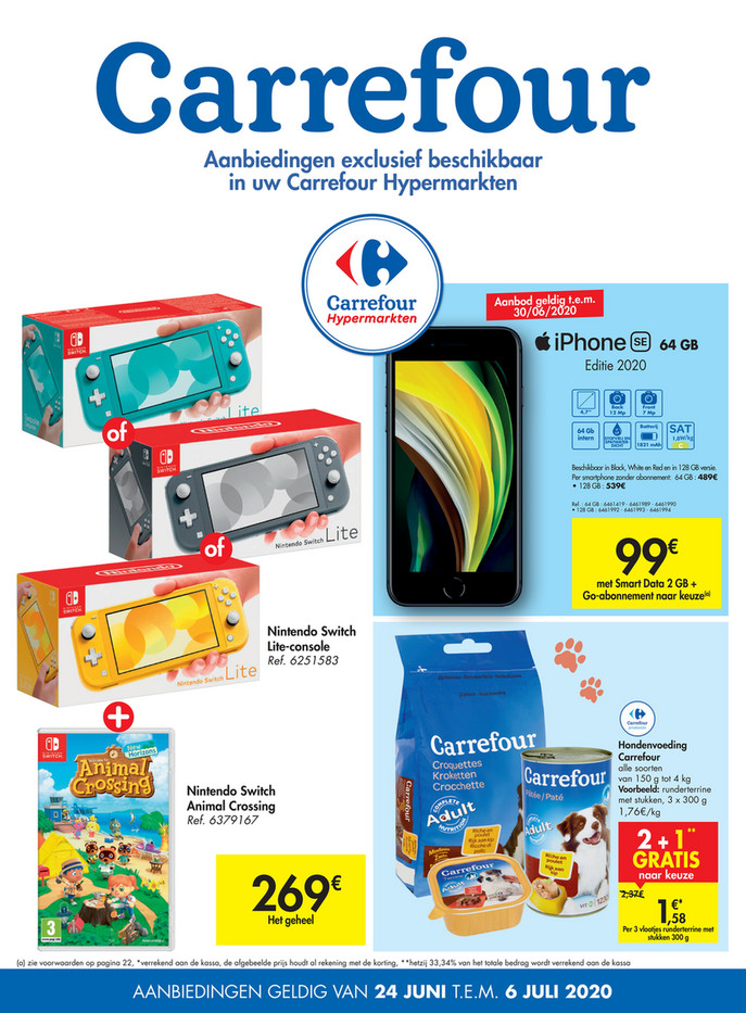 Carrefour folder van 24/06/2020 tot 06/07/2020 - Weekpromoties 26