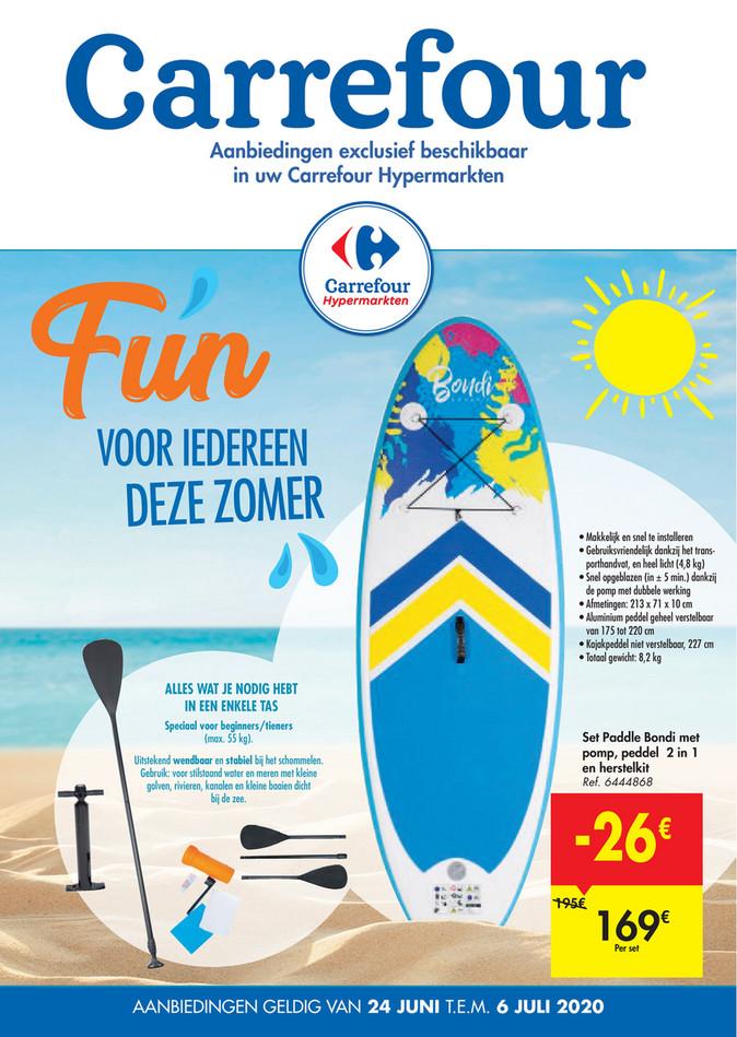 Carrefour folder van 24/06/2020 tot 06/07/2020 - Weekpromoties 26a