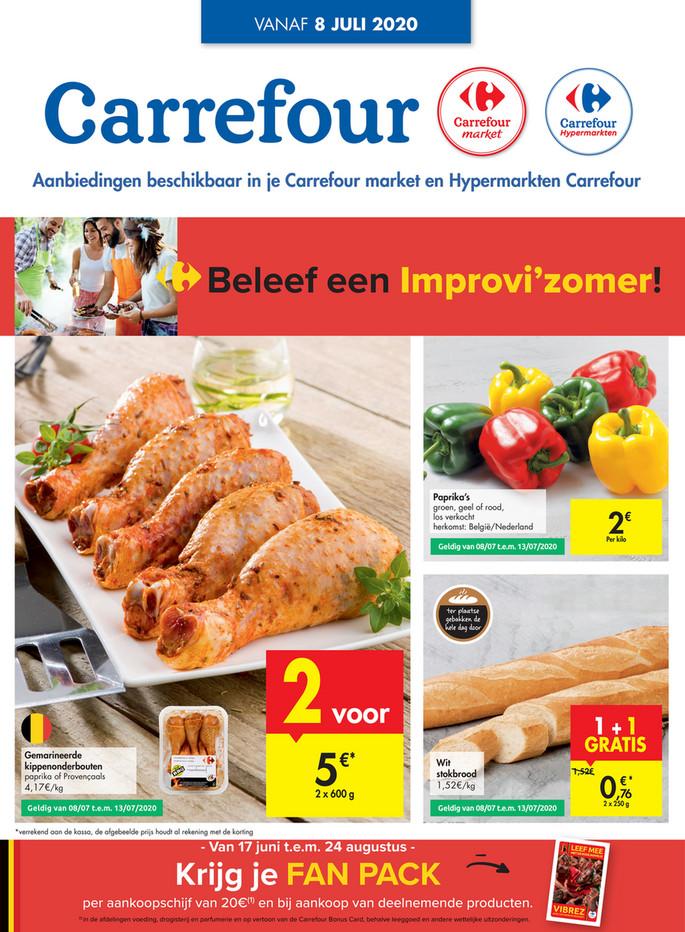 Carrefour folder van 08/07/2020 tot 13/07/2020 - Weekpromoties 28