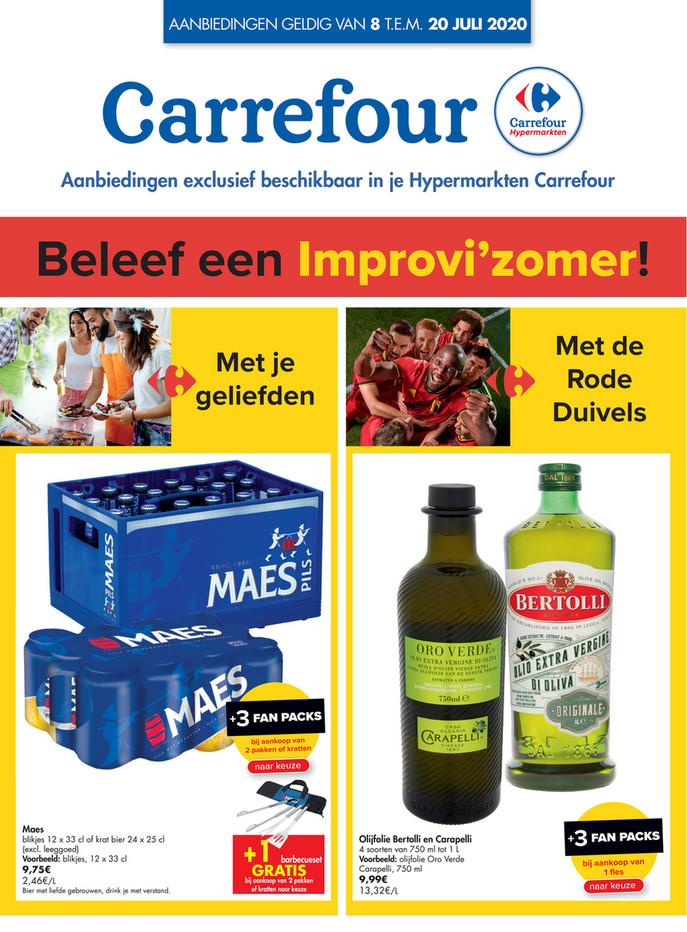Carrefour folder van 08/07/2020 tot 20/07/2020 - Weekpromoties 28a