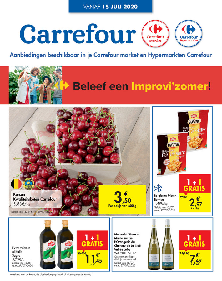 Carrefour folder van 15/07/2020 tot 20/07/2020 - Weekpromoties 29a