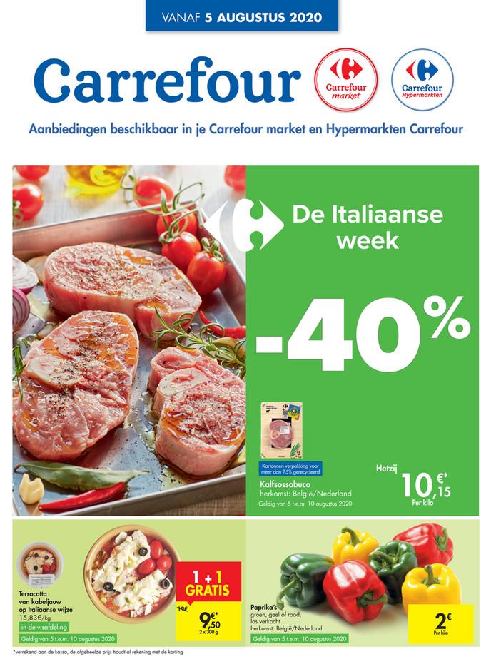 Carrefour folder van 05/08/2020 tot 10/08/2020 - Weekpromoties 32