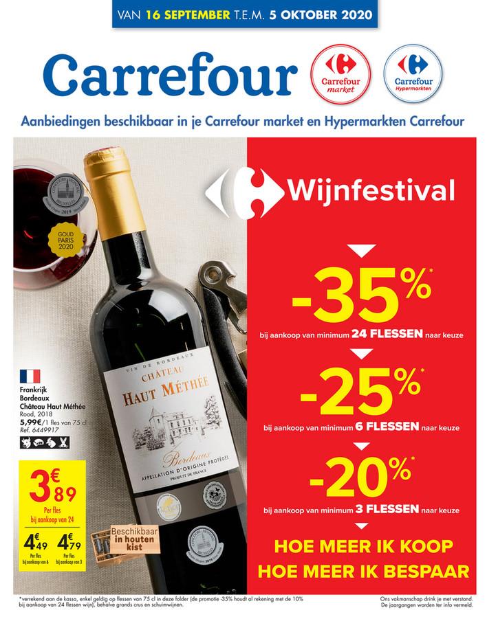 Carrefour folder van 16/09/2020 tot 05/09/2020 - Weekpromoties 37a