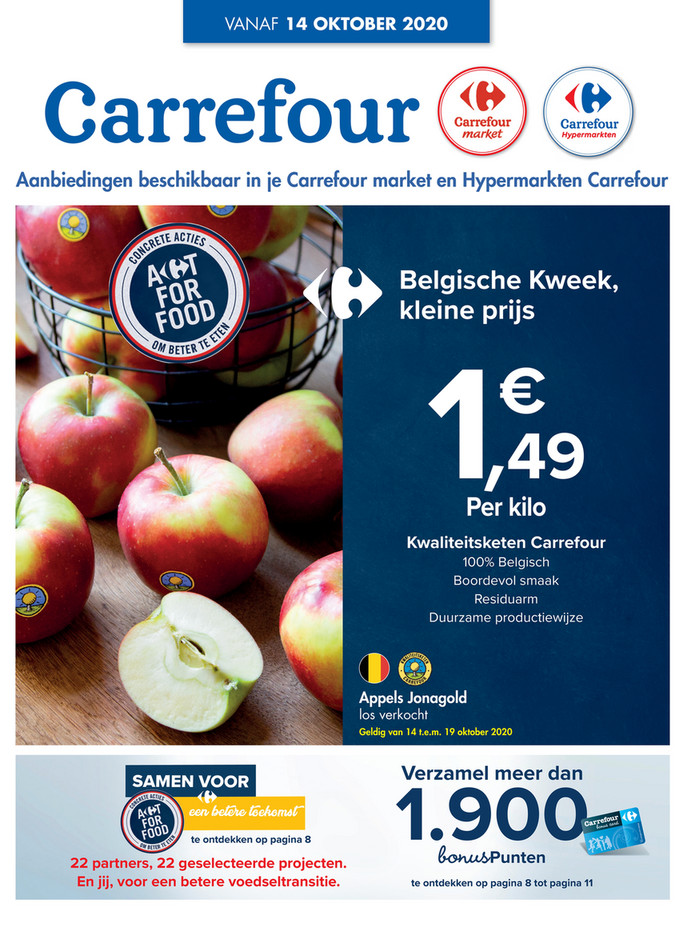 Carrefour folder van 14/10/2020 tot 19/10/2020 - Weekpromoties 42