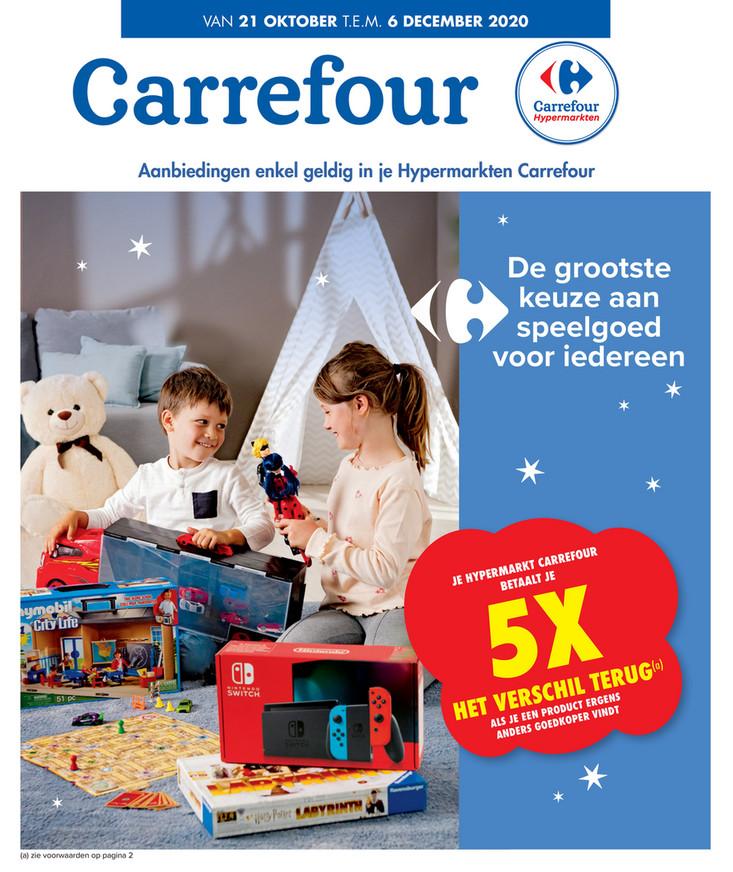 Carrefour folder van 21/10/2020 tot 06/12/2020 - Weekpromoties 43a