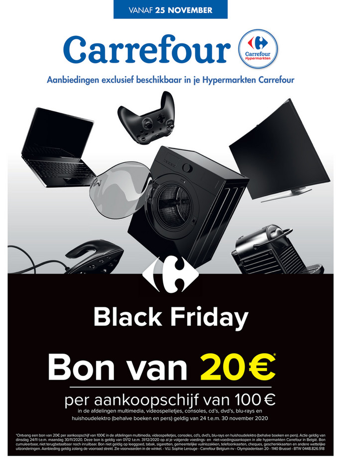 Carrefour folder van 25/11/2020 tot 30/11/2020 - Weekpromoties 48