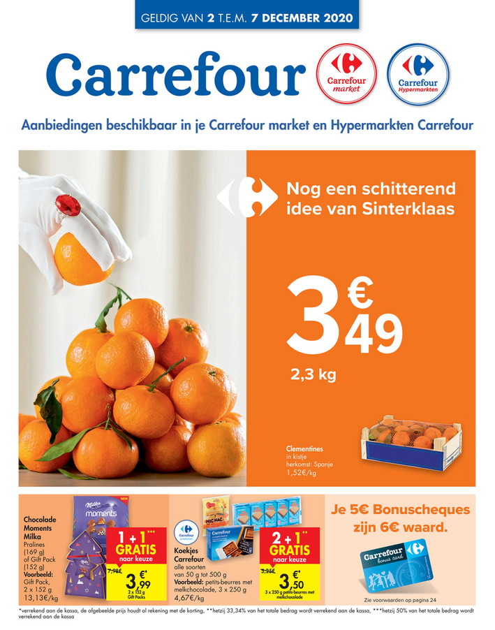Carrefour folder van 02/12/2020 tot 07/12/2020 - Weekpromoties 49