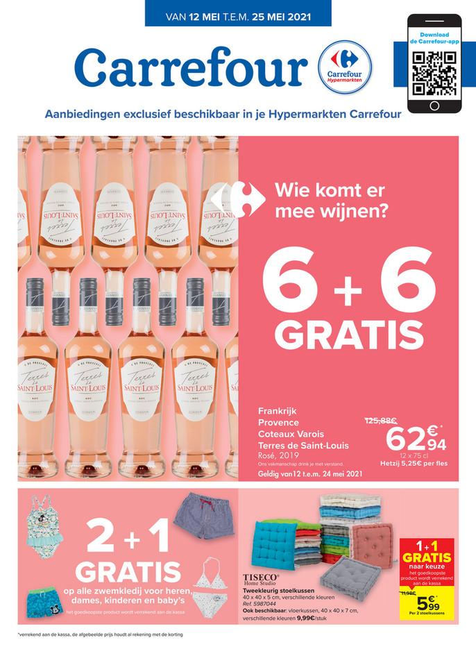 Carrefour folder van 10/05/2021 tot 25/05/2021 - Weekpromoties 19