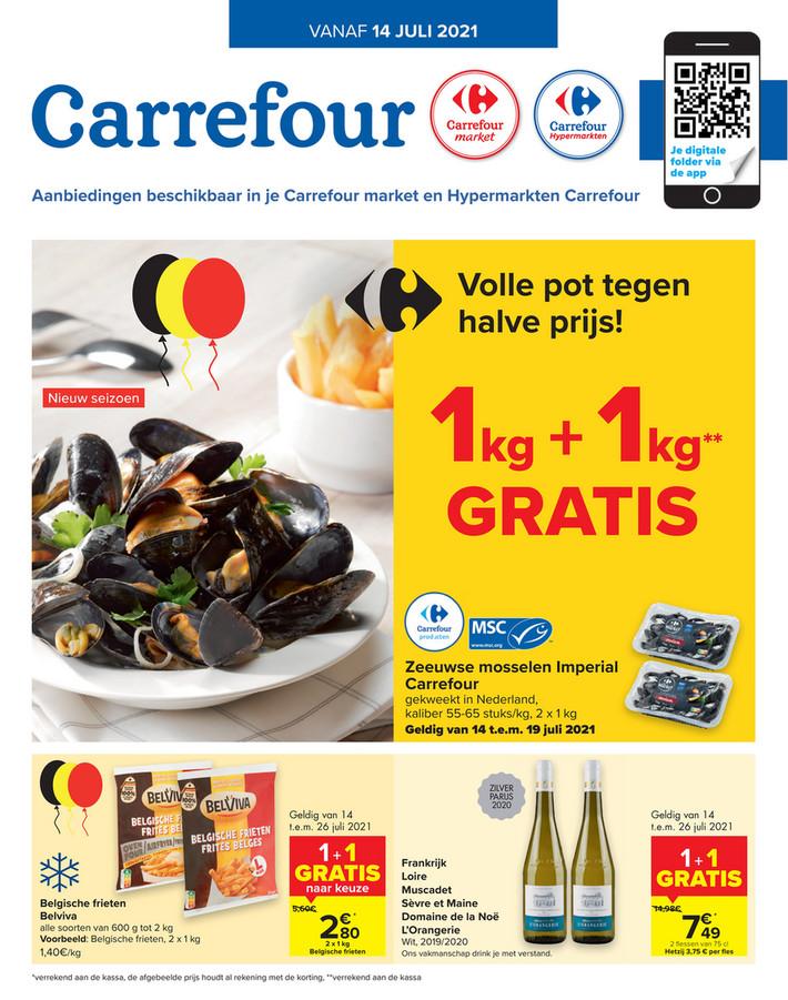 Carrefour folder van 14/07/2021 tot 26/07/2021 - Promoties 28