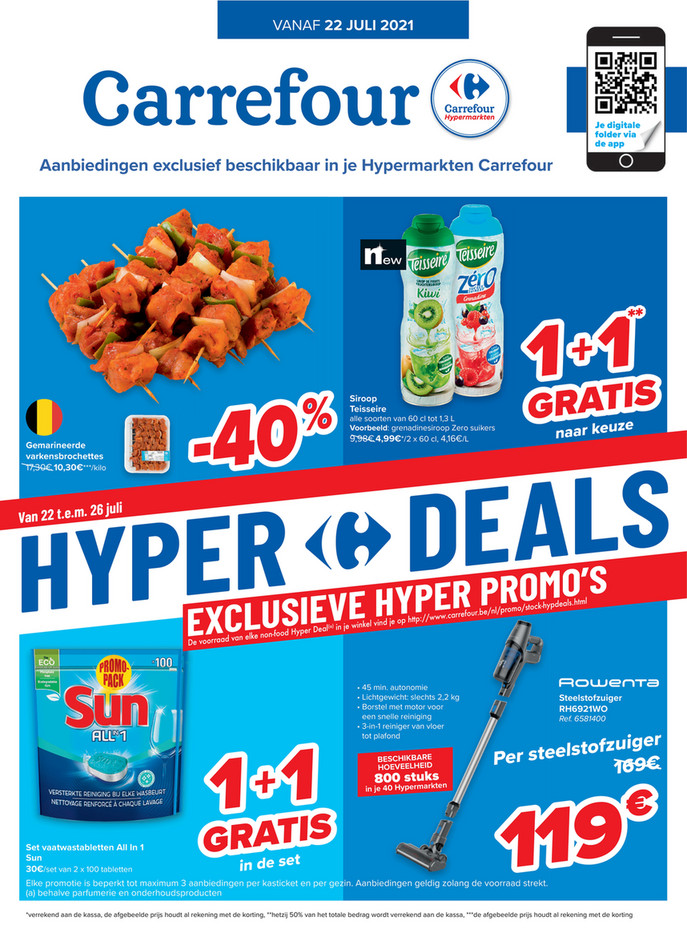 Carrefour folder van 22/07/2021 tot 02/08/2021 - Weekpromoties 29