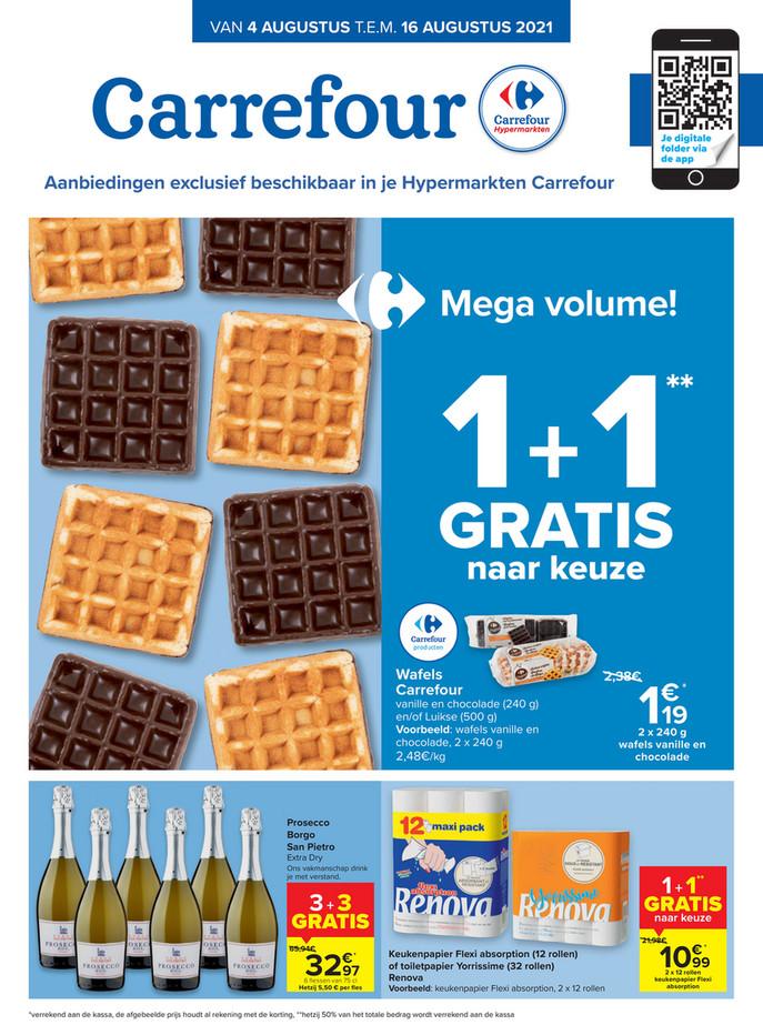 Carrefour folder van 04/08/2021 tot 16/08/2021 - Weekpromoties 31