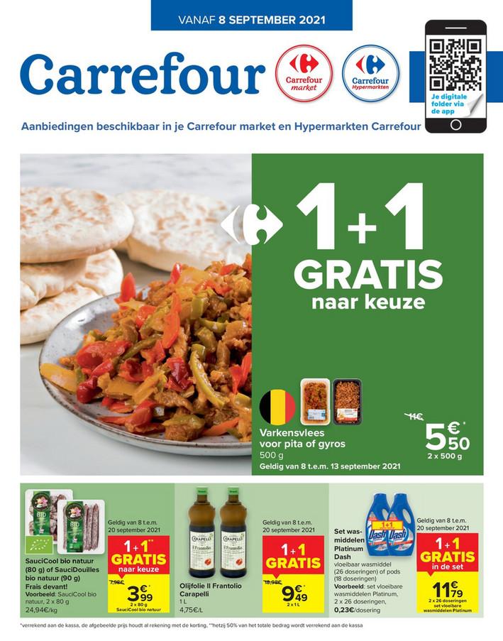 Carrefour folder van 10/09/2021 tot 20/09/2021 - Weekpromoties 36 2