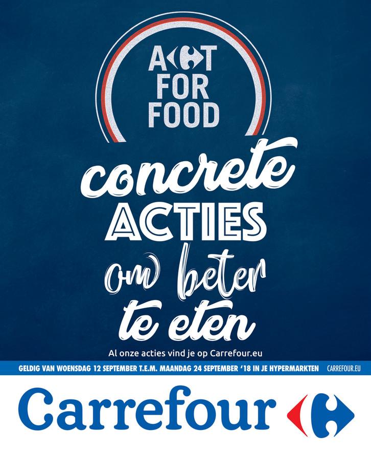 Carrefour folder van 12/09/2018 tot 24/09/2018 - Concrete acties