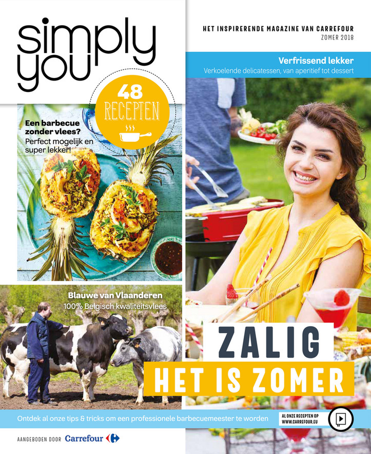 Carrefour folder van 01/09/2018 tot 15/10/2018 - Simply You zomer