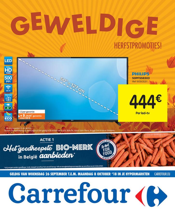 Carrefour folder van 26/09/2018 tot 08/10/2018 - Weekpromoties 39