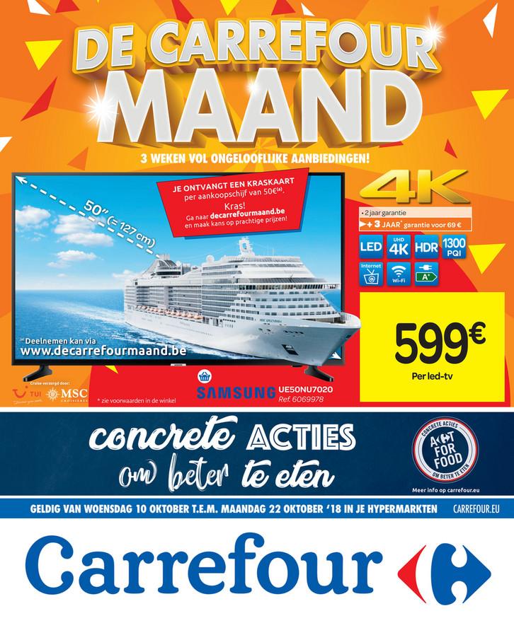 Carrefour folder van 10/10/2018 tot 22/10/2018 - Weekpromoties 41