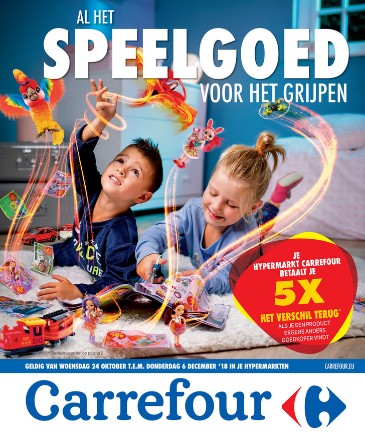 Carrefour folder van 24/10/2018 tot 06/12/2018 - Speelgoedpromoties