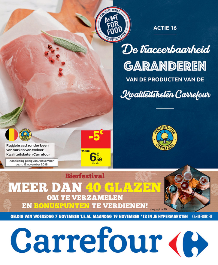 Carrefour folder van 07/11/2018 tot 12/11/2018 - Weekpromoties 45