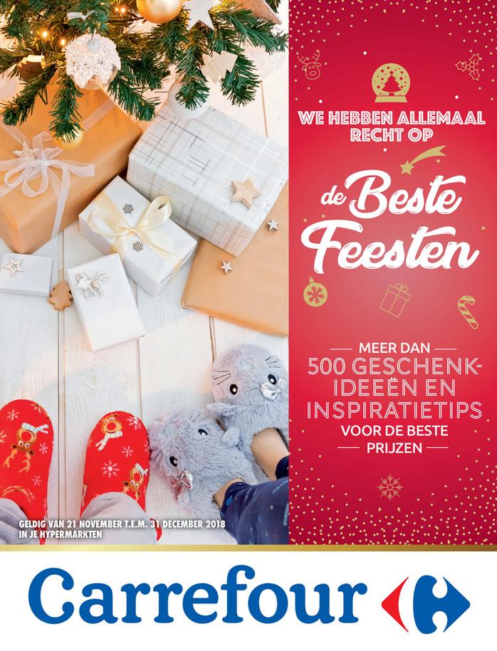 Carrefour folder van 21/11/2018 tot 31/12/2018 - Beste feesten