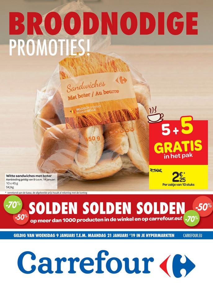 Carrefour folder van 09/01/2019 tot 21/01/2019 - weekpromoties 2b