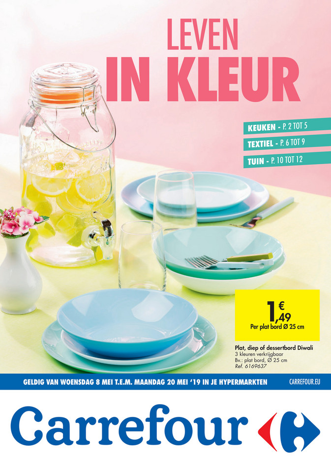 Carrefour folder van 08/05/2019 tot 20/05/2019 - Weekpromoties 19a