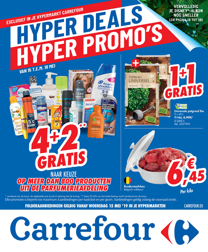 Carrefour folder van 15/05/2019 tot 20/05/2019 - Weekpromoties 20