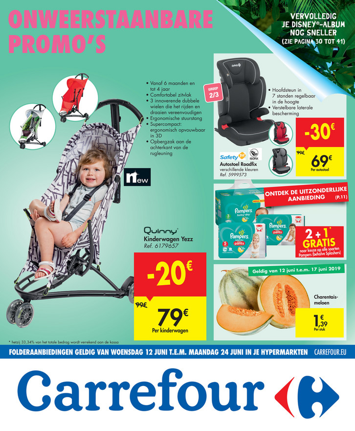Carrefour folder van 12/06/2019 tot 24/06/2019 - Weekpromoties 24