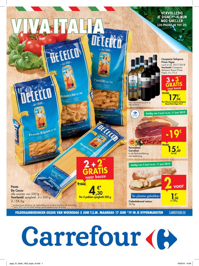 Carrefour folder van 05/06/2019 tot 17/06/2019 - Weekpromoties 23a