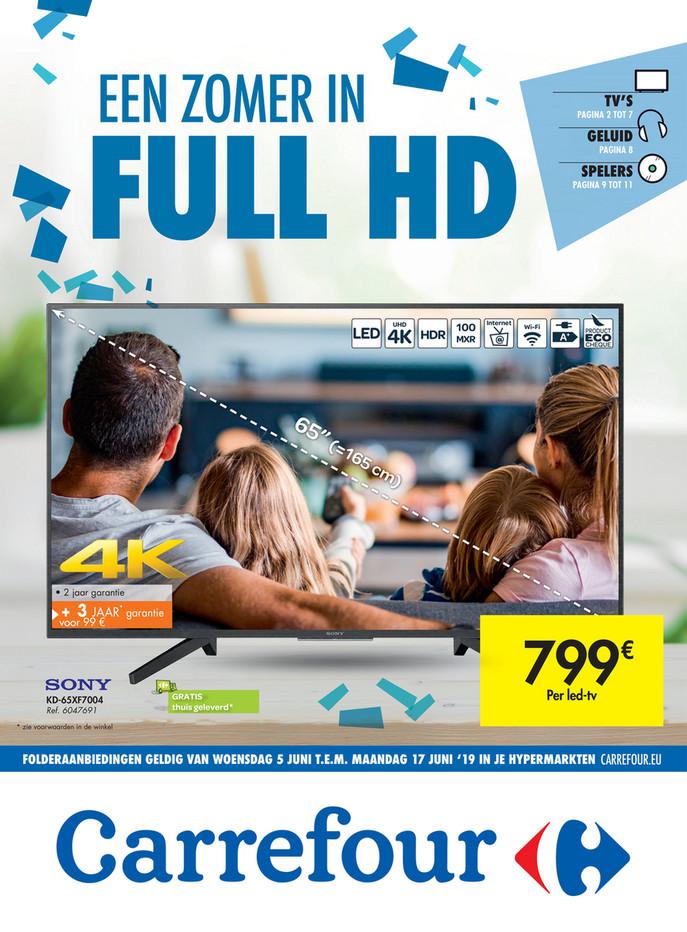 Carrefour folder van 05/06/2019 tot 17/06/2019 - Weekpromoties 23b