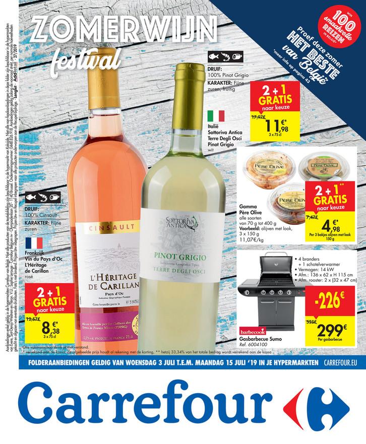 Carrefour folder van 03/07/2019 tot 15/07/2019 - Weekpromoties 27b