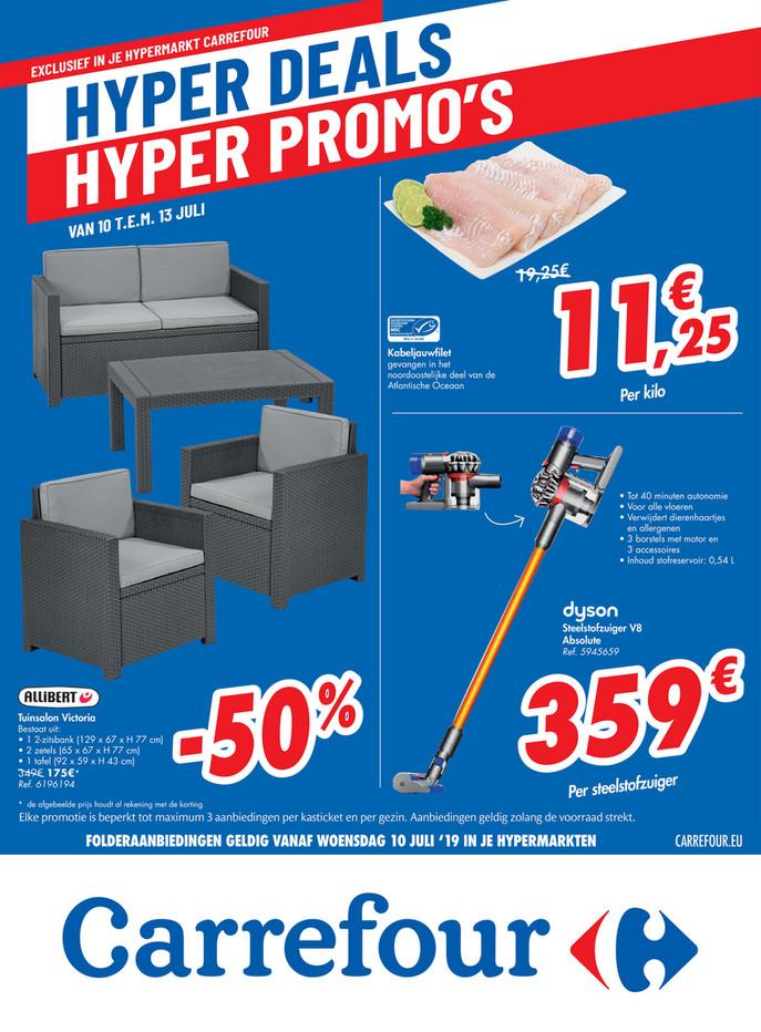 Carrefour folder van 10/07/2019 tot 13/07/2019 - Weekpromoties 28