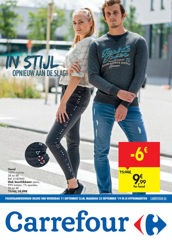 Carrefour folder van 11/09/2019 tot 23/09/2019 - Focus Textile