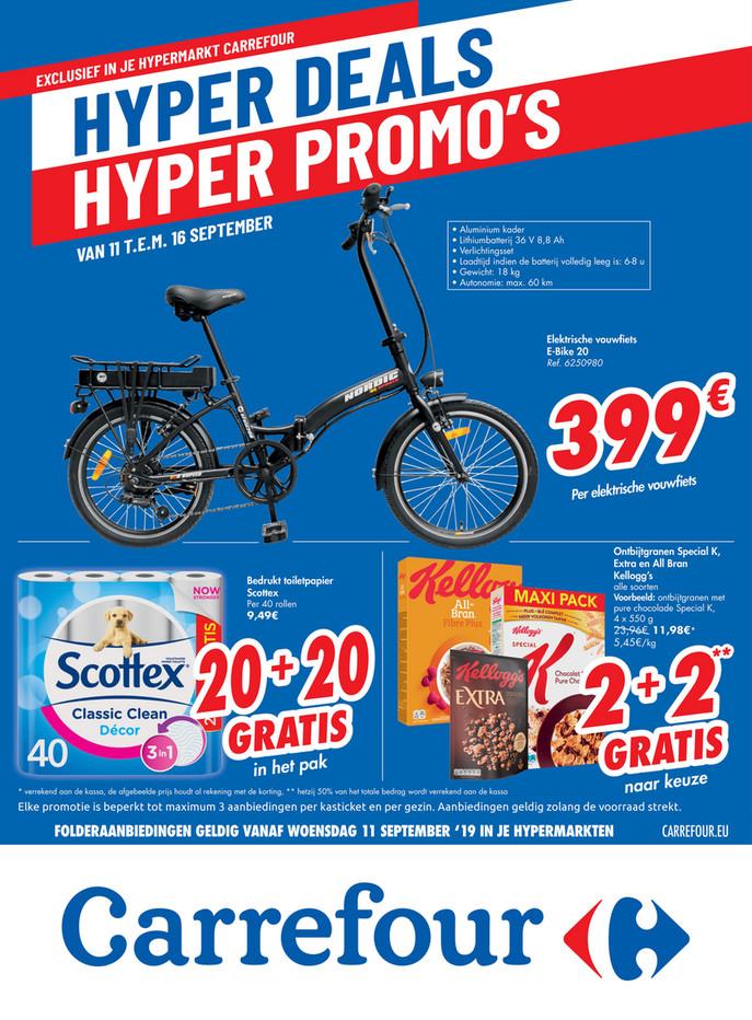 Carrefour folder van 11/09/2019 tot 23/09/2019 - Weekpromoties 37