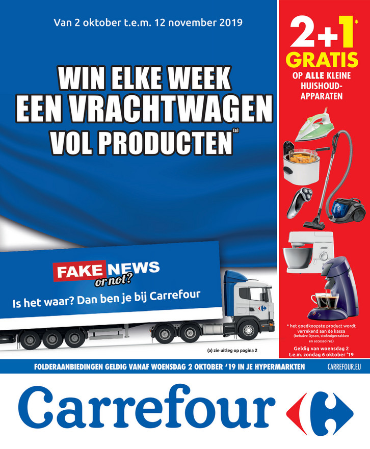 Carrefour folder van 02/10/2019 tot 12/11/2019 - Weekpromoties 40
